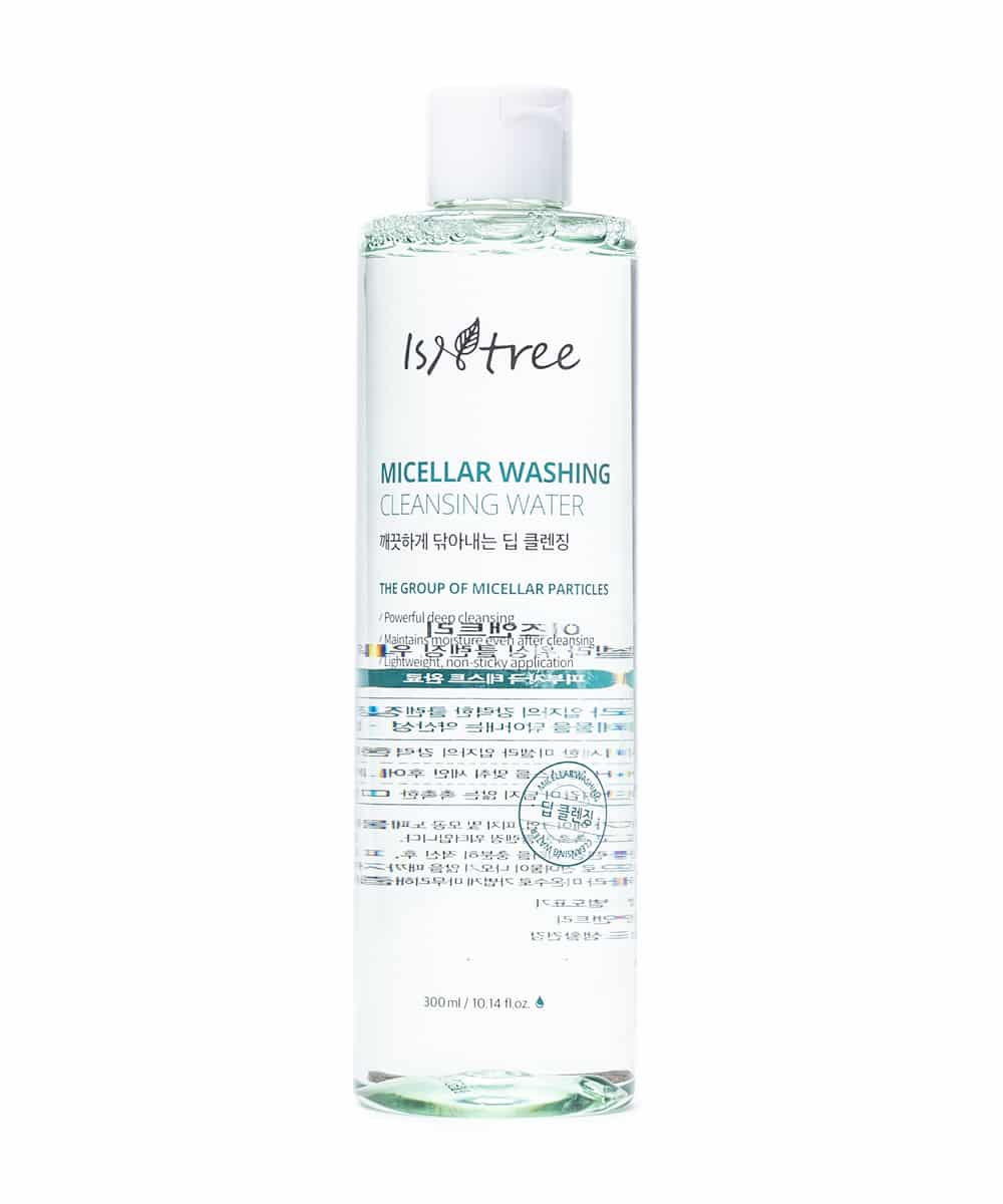 Isntree Micellar Washing Cleansing Water (300ml, Front)