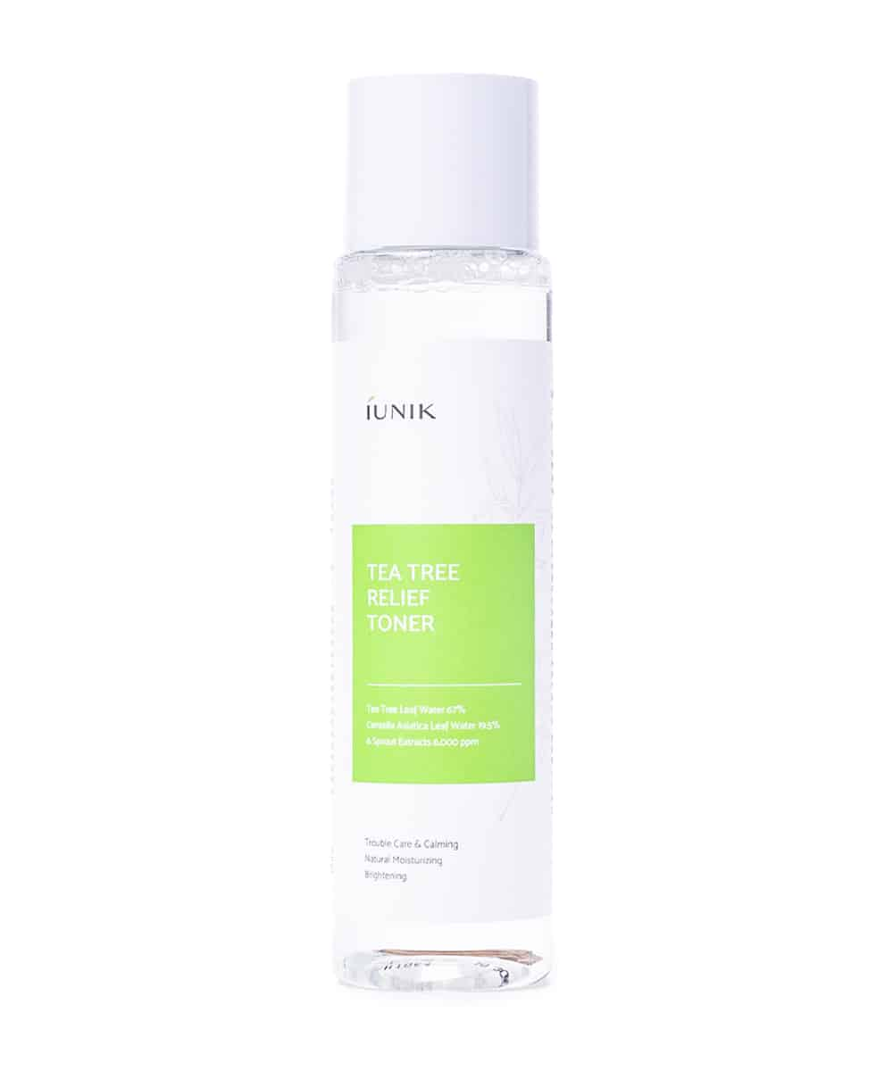 iUNIK Tea Tree Relief Toner (200ml, Front)