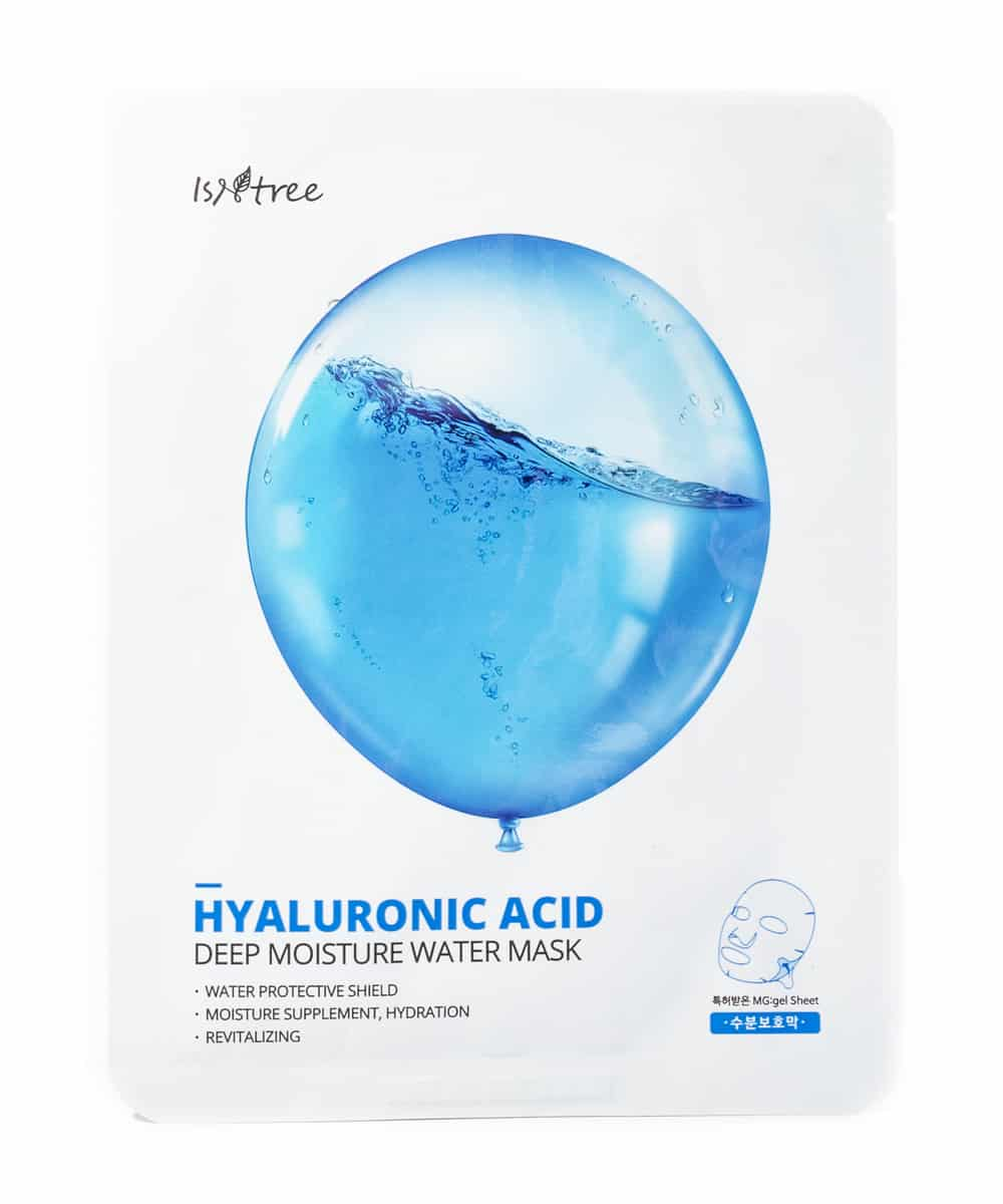 Isntree Hyaluronic Acid Deep Moisture Water Mask (Front)