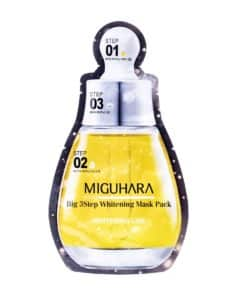 Miguhara Big 3Step Ample Facial Mask (Single, Front)