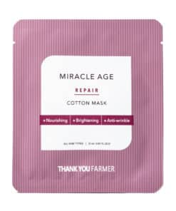 Thank You Farmer Miracle Age Cotton Mask (Front)