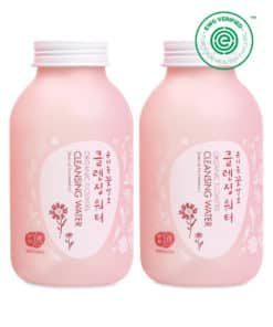 BOGO (1+1) Whamisa Organic Flowers Cleansing Water (285ml, Front)