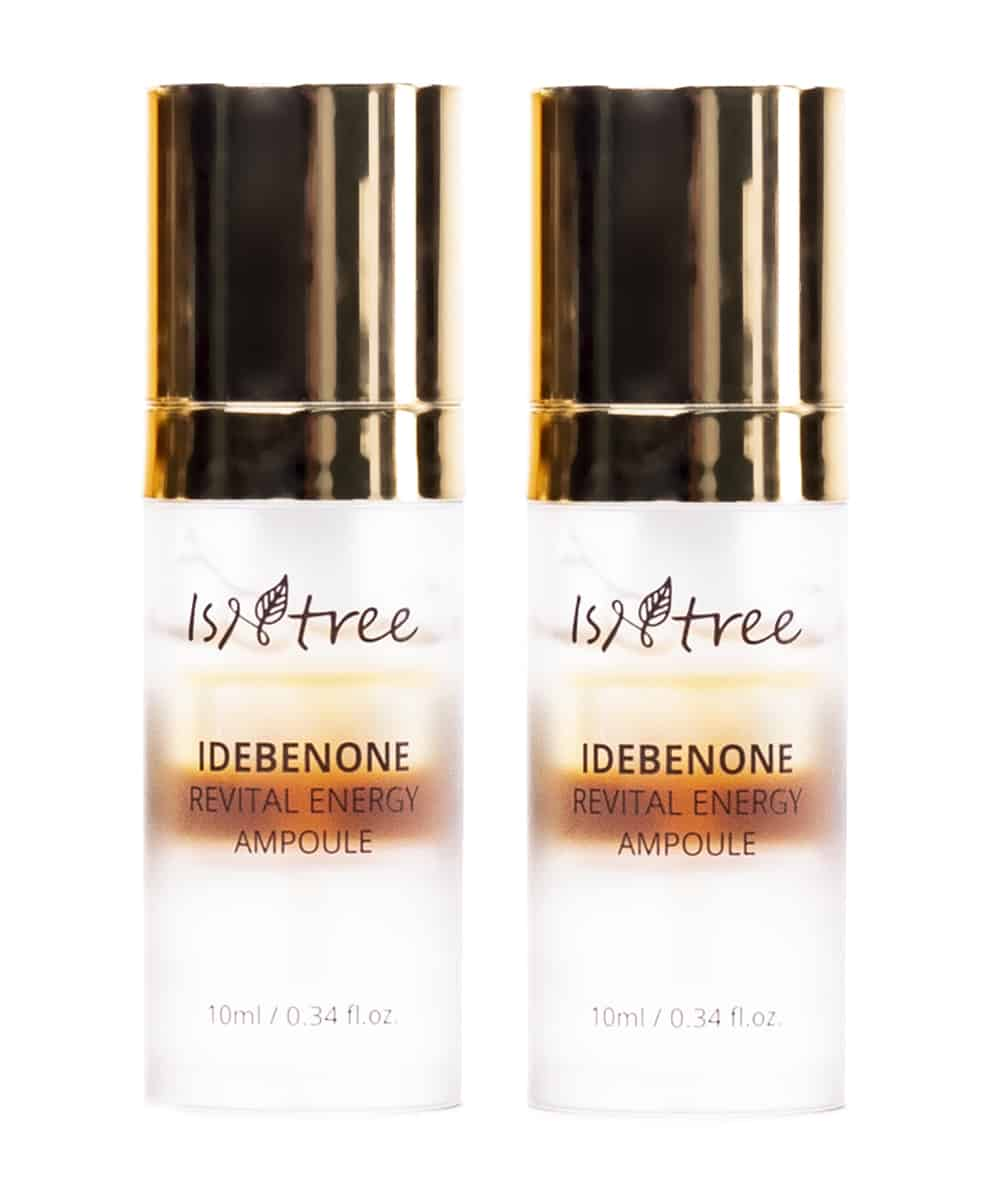 Isntree Idebenone Revital Energy Ampoule (30ml x2, Front)