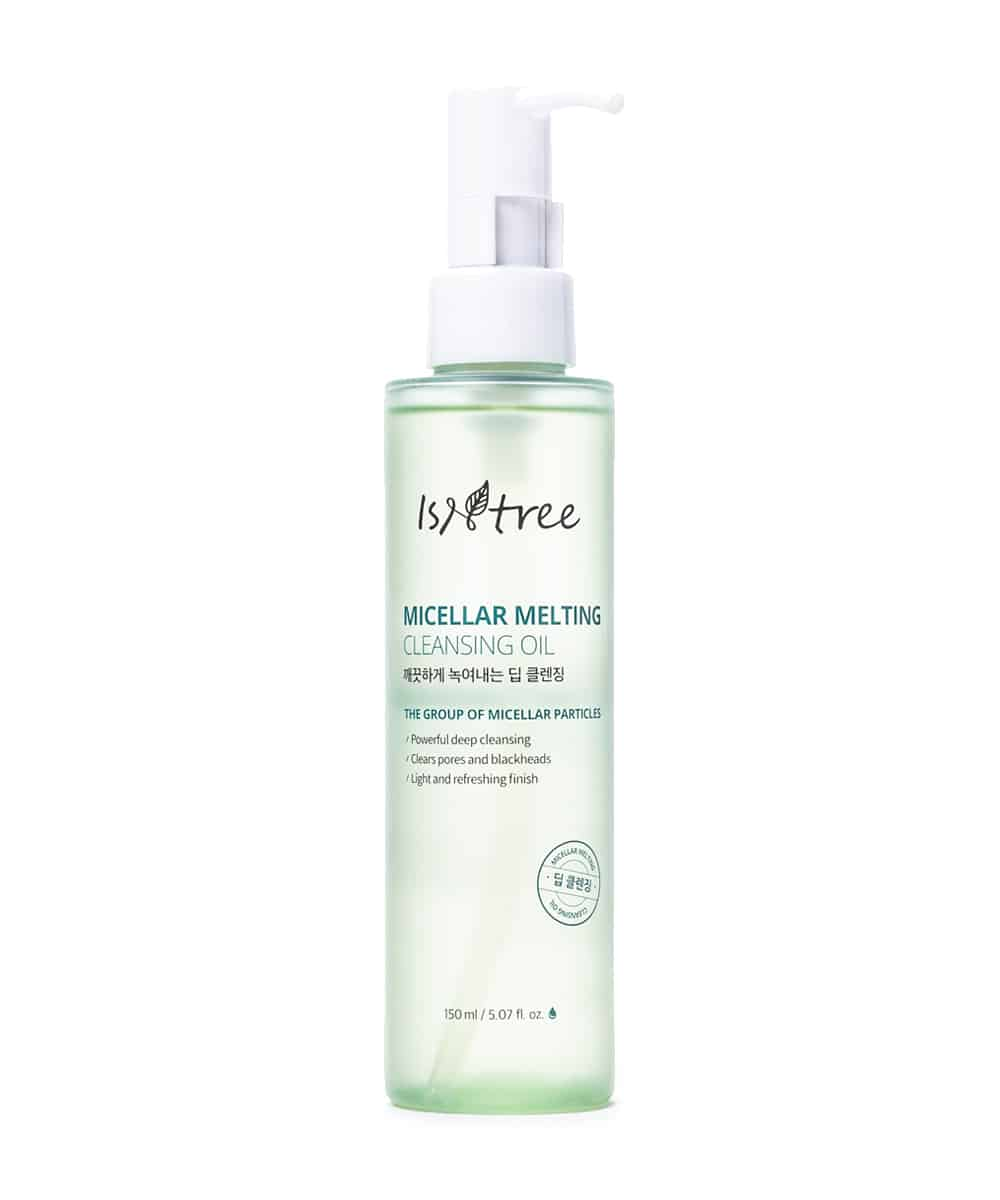 Isntree Micellar Melting Cleansing Oil (150ml, Front)