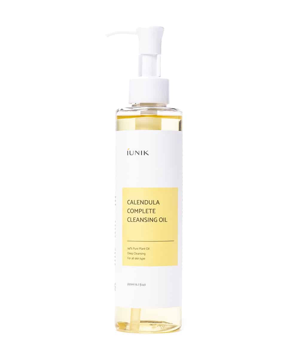iUNIK Calendula Complete Cleansing Oil (200ml, Front)