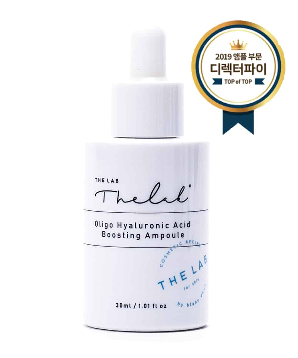 The Lab by Blanc Doux Oligo Hyaluronic Acid Boosting Ampoule (30ml, Front, Iconed)