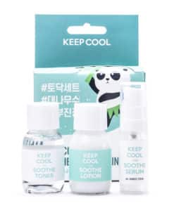 Keep Cool Soothe Bamboo Mini Kit (Front)