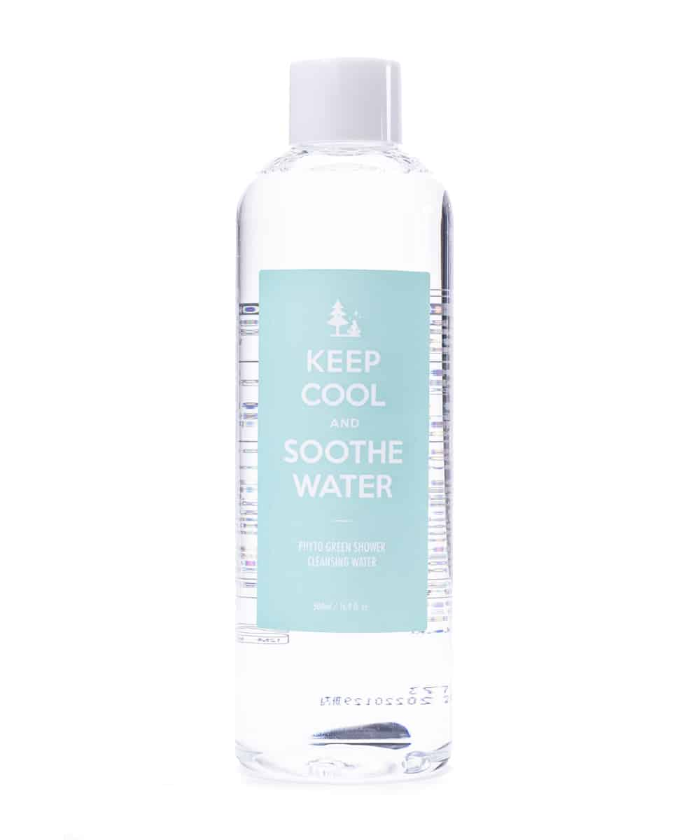 Keep Cool Soothe Cleansing Water (500ml, Front)