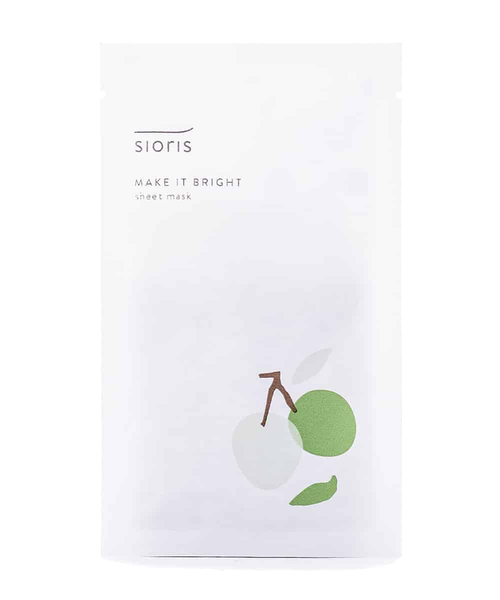 Sioris 'Make It Bright' Sheet Mask (Front)