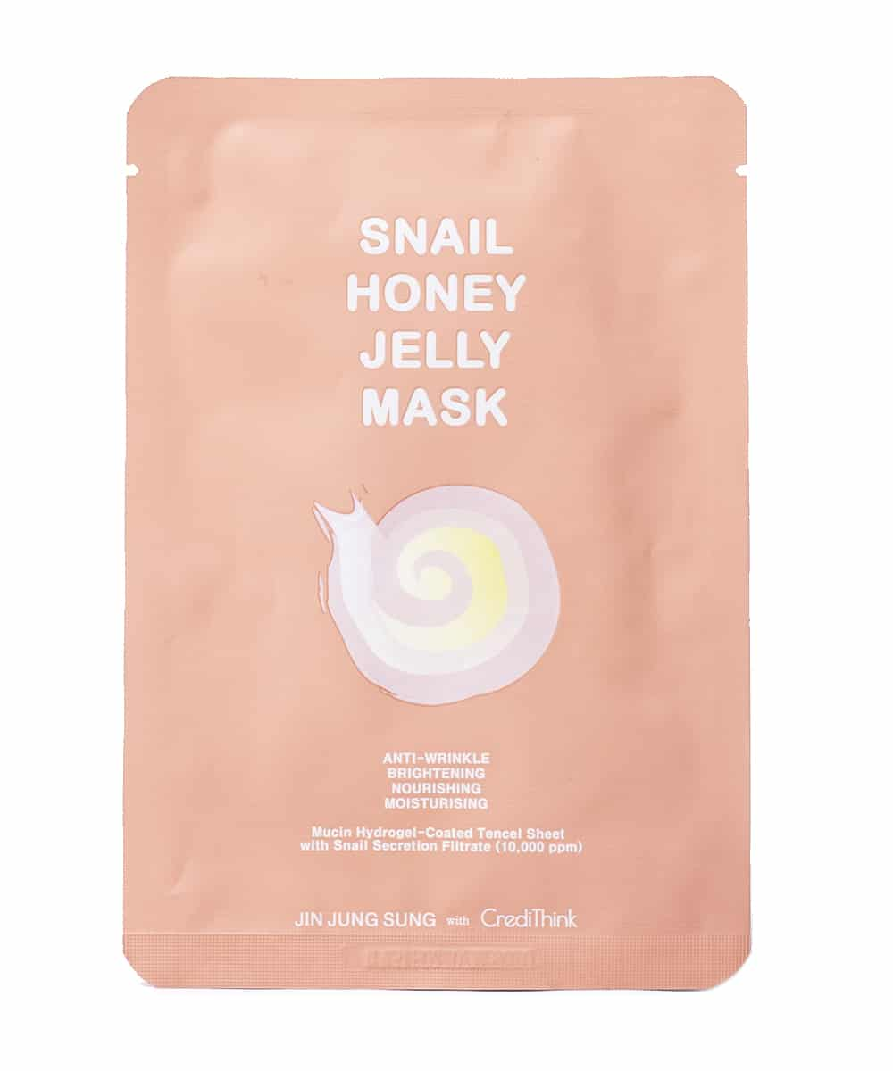 [Jin Jung Sung x CrediThink] Snail Honey Jelly Mask (Front)