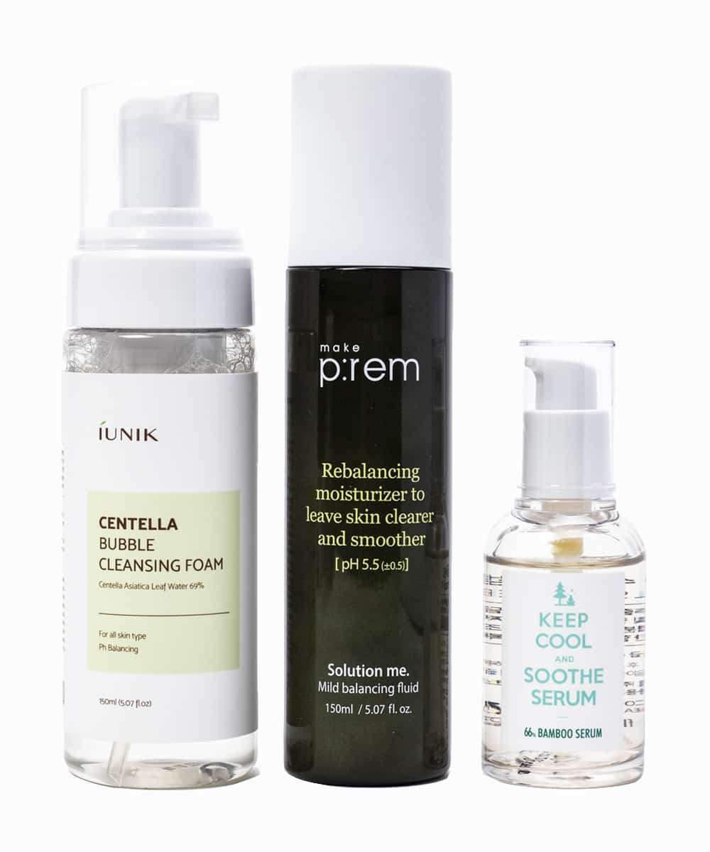 The 'Essentials for Oily and Acne-Prone Skin' Set