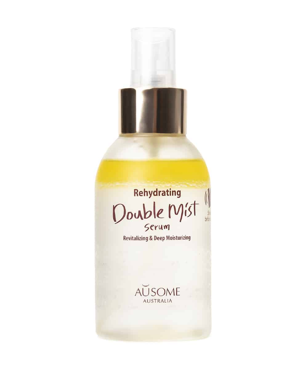 Ausome Rehydrating Double Mist Serum (120ml, Front)