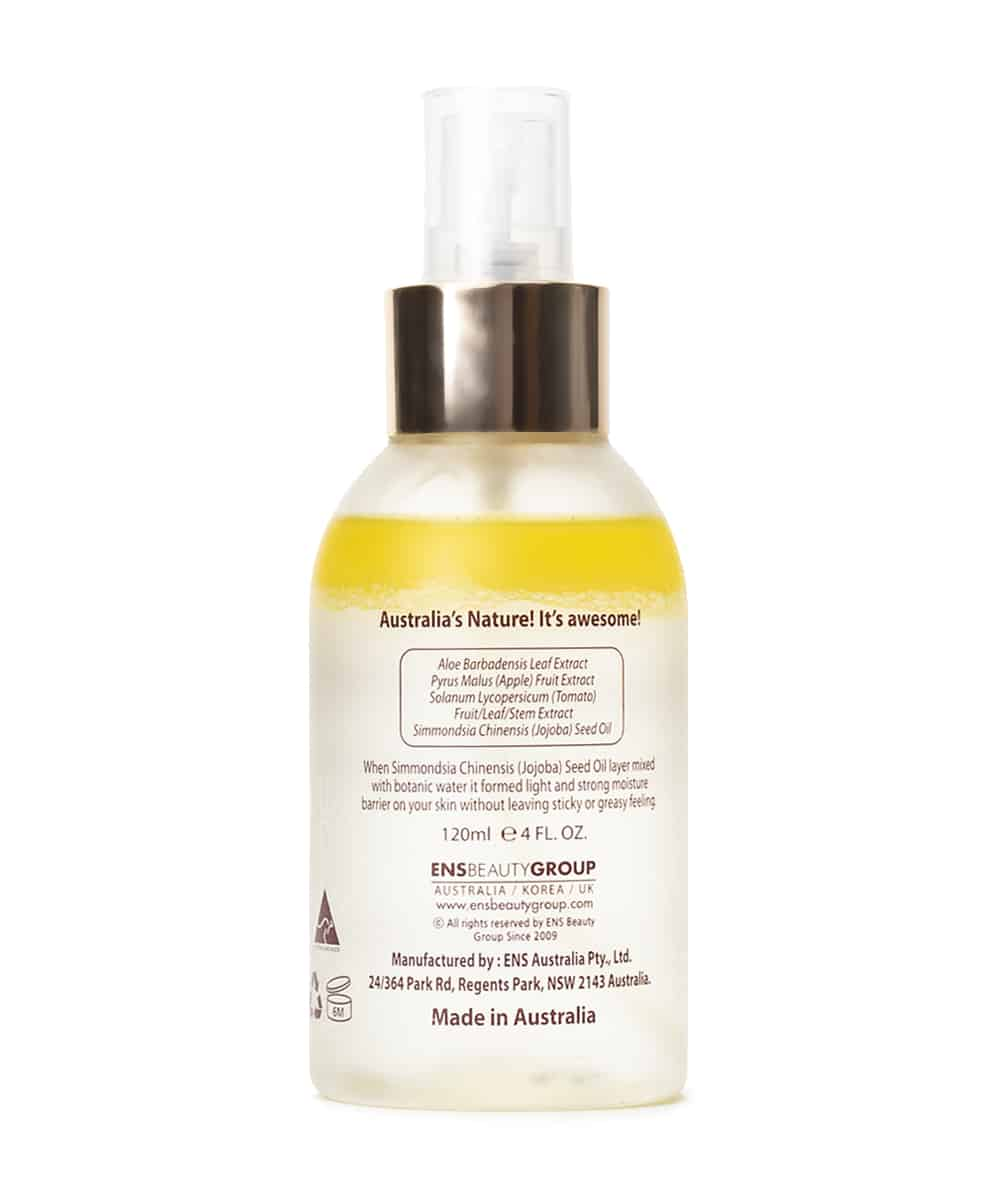 Ausome Rehydrating Double Mist Serum (120ml, Back)