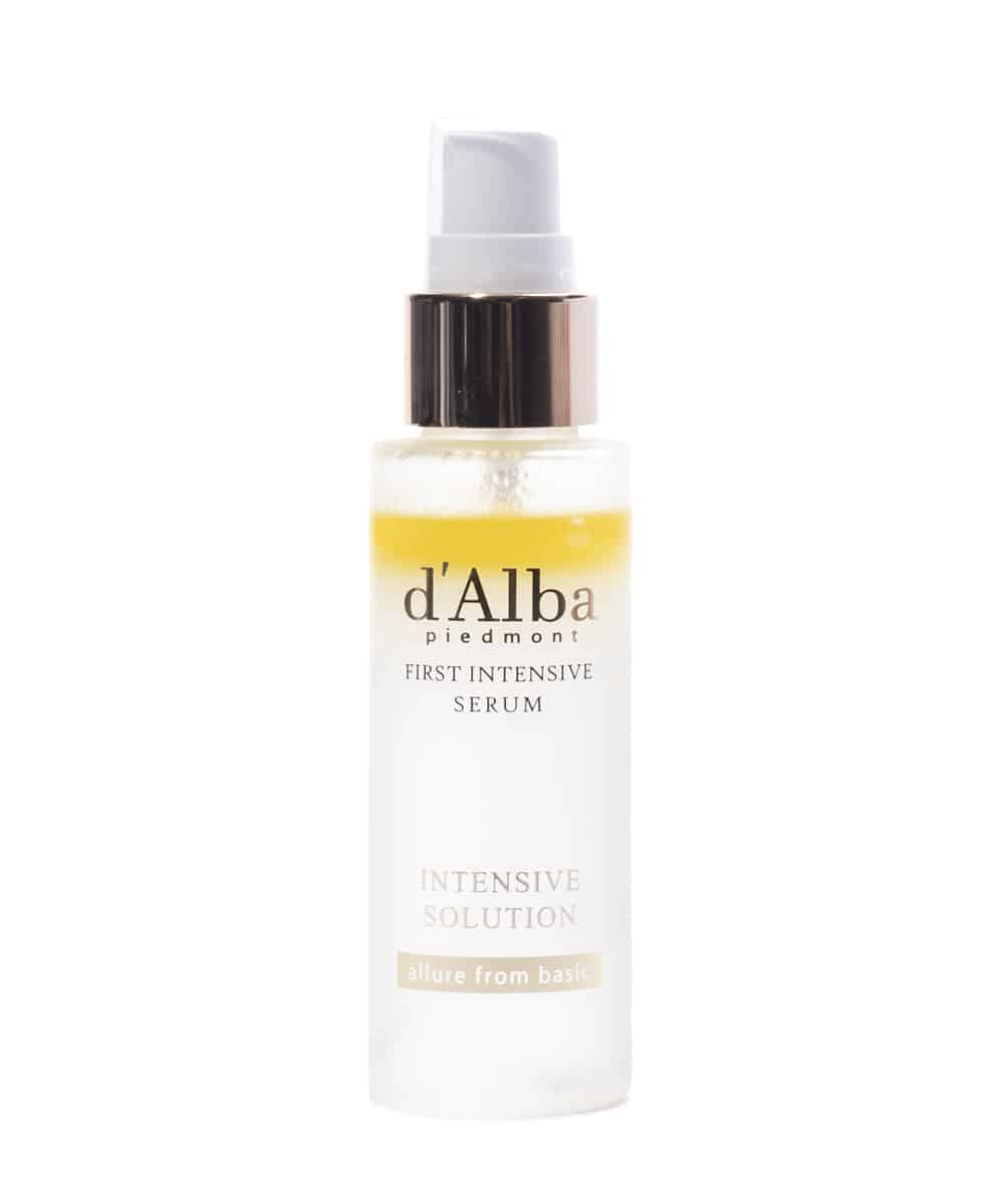 d'Alba White Truffle First Intensive Serum (50ml, Front)