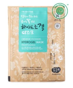 Whamisa Organic Flowers Hydrogel Mask (1 Sheet, Front)